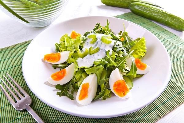 рецепты летних салатов с зеленью
