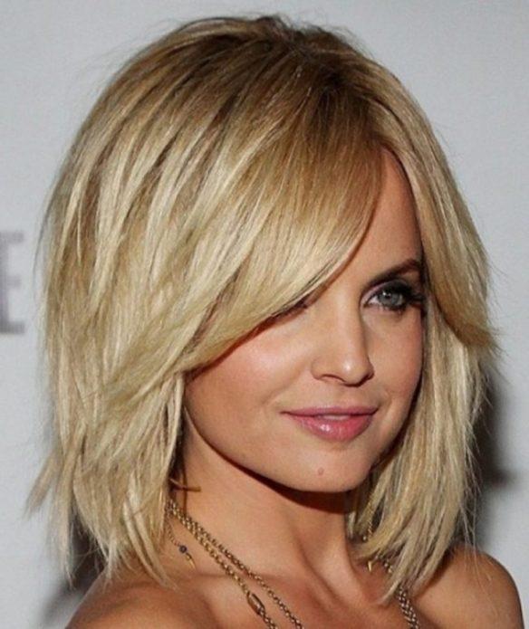 Многослойные стрижки на волосы разной длины