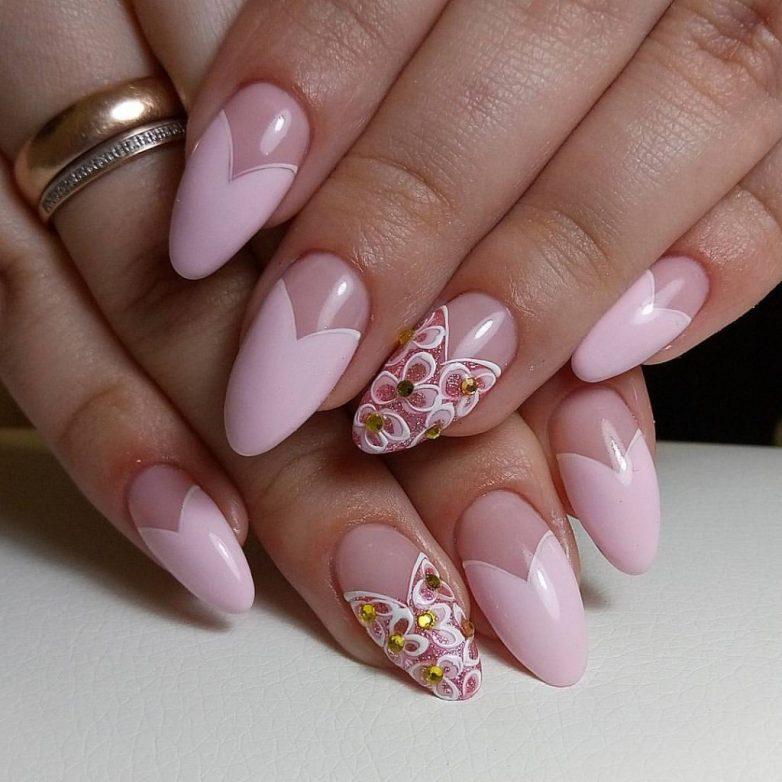Идеи маникюра для овальных ногтей