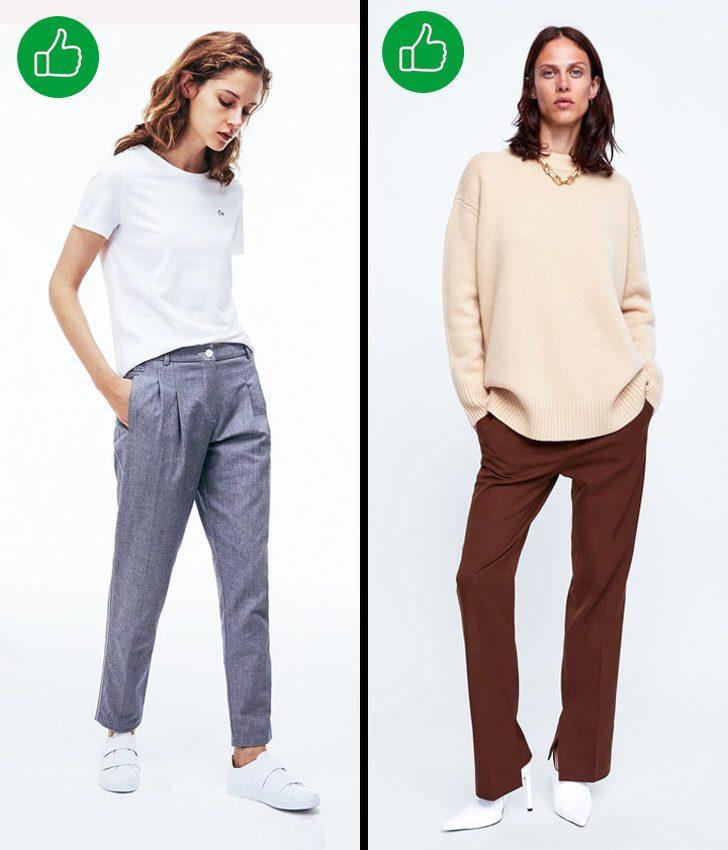 Гид по выбору идеальных брюк для каждого типа фигуры