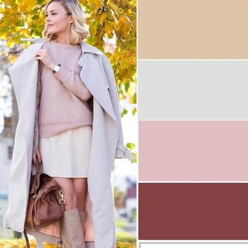 Как правильно носить бежевый цвет этой осенью