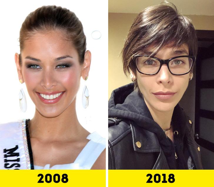 Победительницы конкурса «Мисс Вселенная» тогда и сейчас