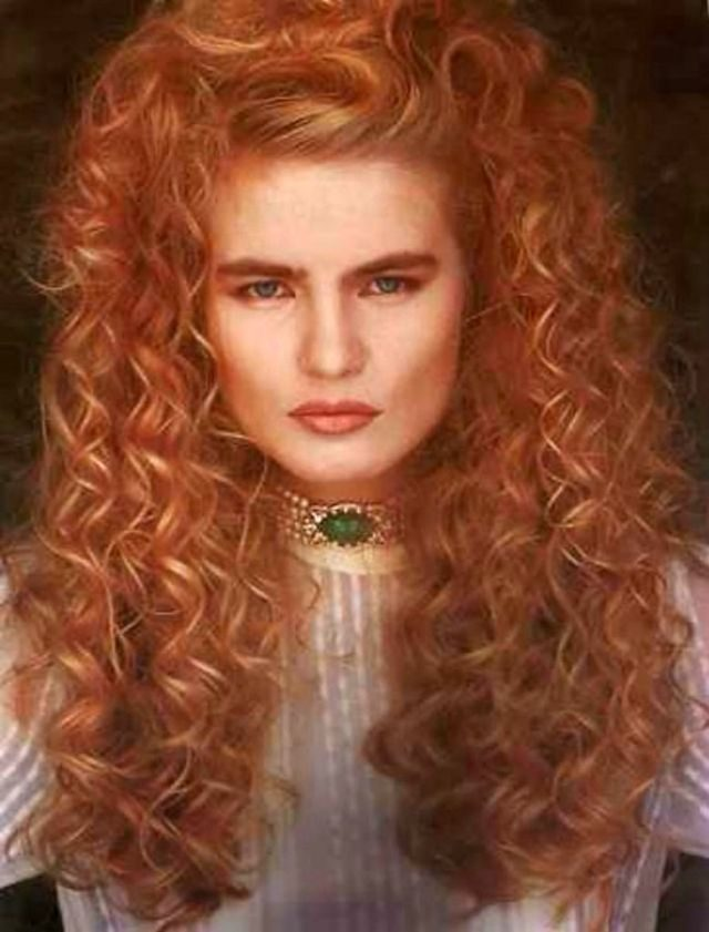 Женские причёски 80-х