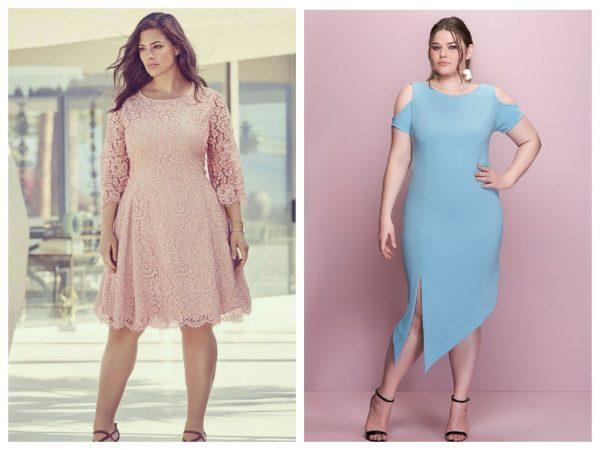 Модные тенденции для полных красавиц