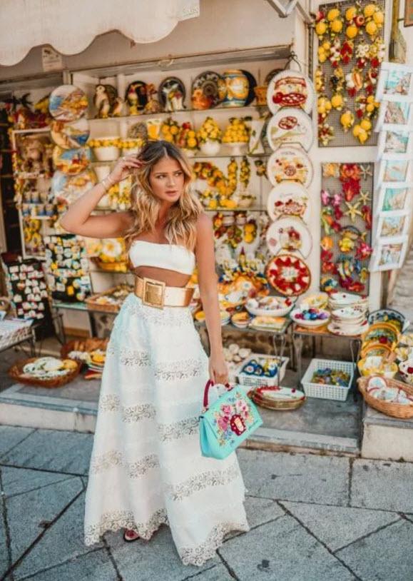 Образы, которые вдохновят вас носить длинные юбки