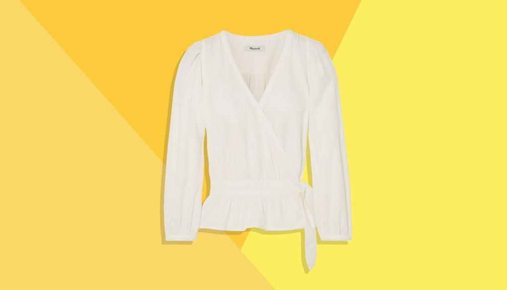 Стильные образы с классической белой рубашкой