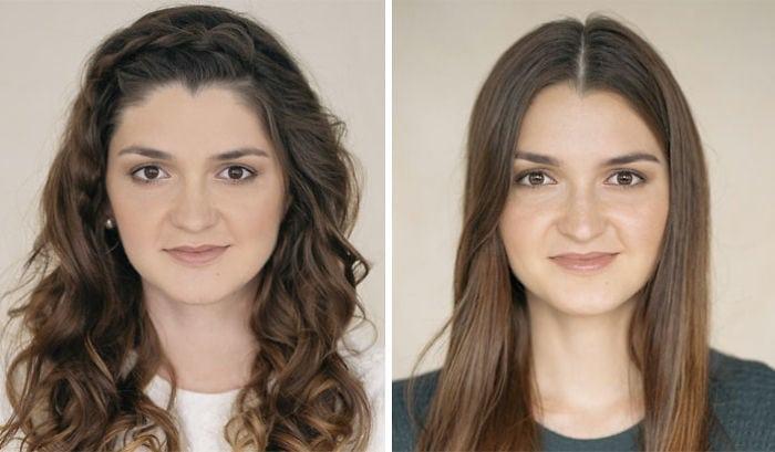 Женщины до и после того, как стали мамами