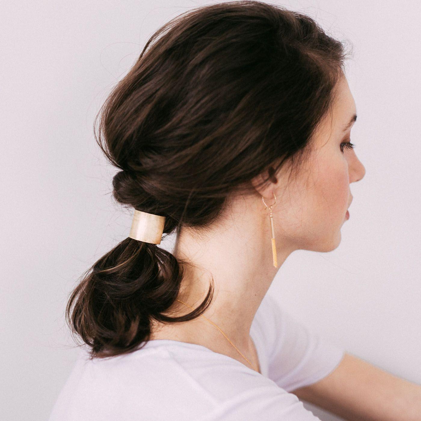 Идеи причёсок с хвостом на средние волосы