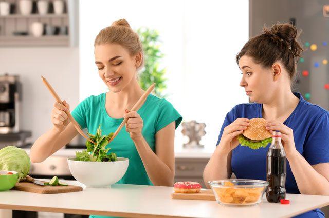 Как быстро похудеть без диет и голода