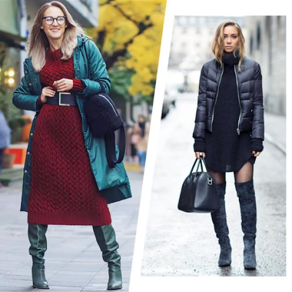 Как выбрать куртку под весеннее платье