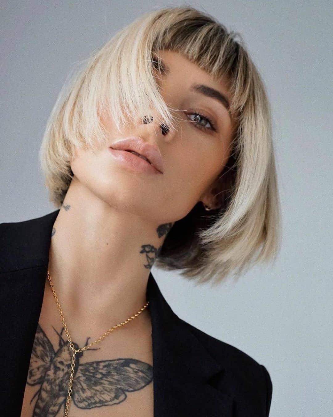 Шикарные короткие стрижки для тонких волос