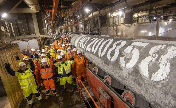В Газпроме заявили о завершении строительства «Северного потока-2»