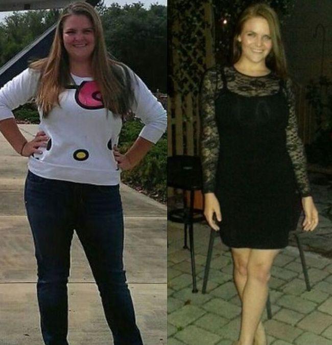 История похудения девушек