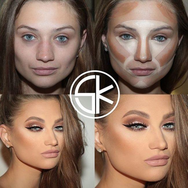 тона пошаговый профессиональный макияж для фотосессии все