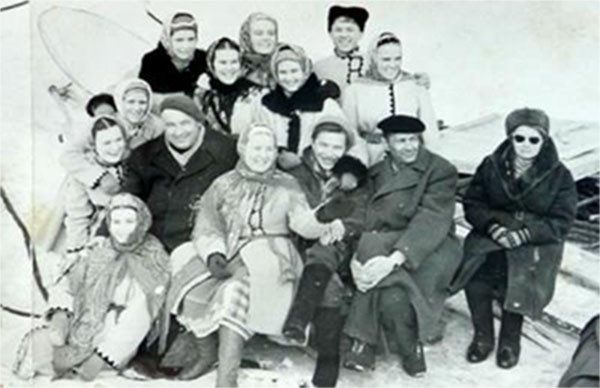 Первый рождественский фильм СССР