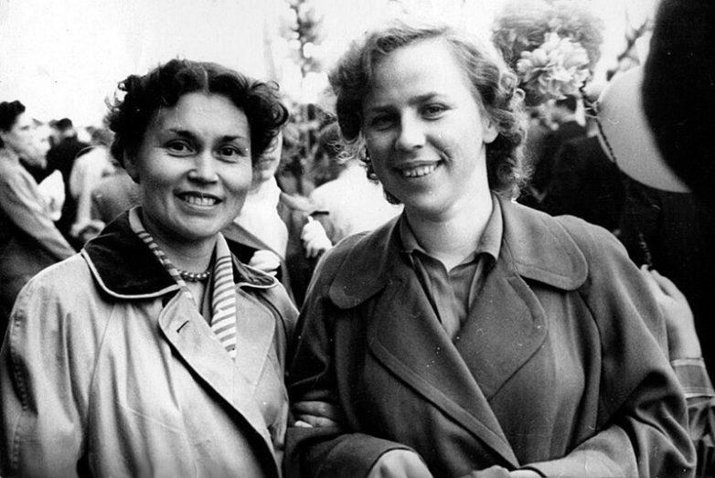 Советские красотки 50-х годов