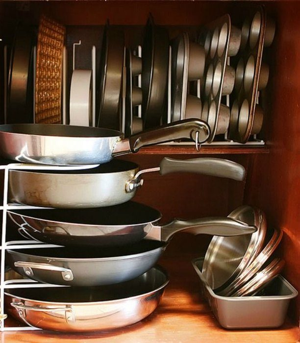 1583eeb66f Стильные и практичные системы хранения для кухни Фото