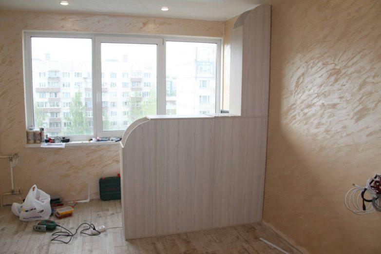 fcef4f7422 Ремонт большой комнаты в трешке Фото