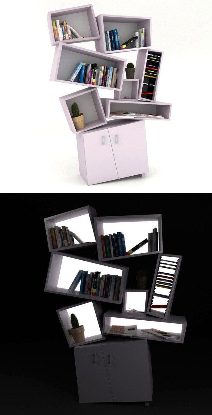 7dabc36a84 Самые необыкновенные книжные полки | Роскошь и уют Фото