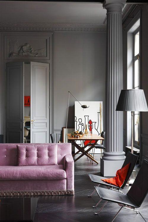 4d1dd6710a Как сочетать серый и розовый Фото