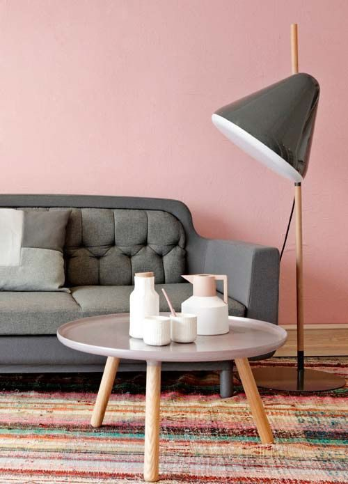 53c0e8b6c7 Как сочетать серый и розовый Фото
