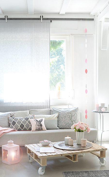 7013514351 Как сочетать серый и розовый Фото