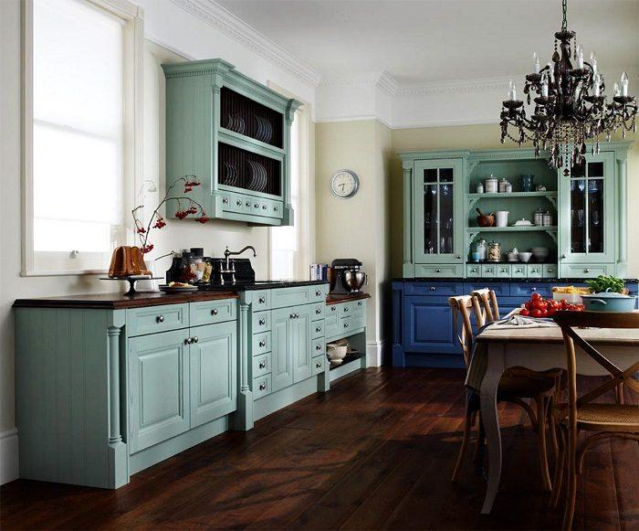 40ab53dc17 Подбираем цвета для кухонных шкафов Фото