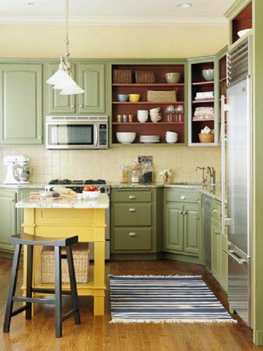 6c98f576fa Подбираем цвета для кухонных шкафов Фото