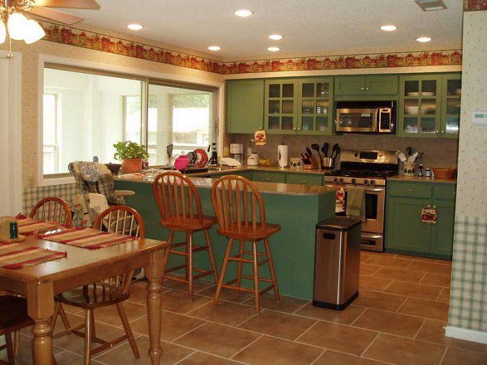 9a9ce989c9 Подбираем цвета для кухонных шкафов Фото