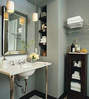 7b02408ddc Вдохновляющие идеи для ванной комнаты Фото
