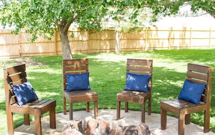 Идеи садовой мебели своими руками