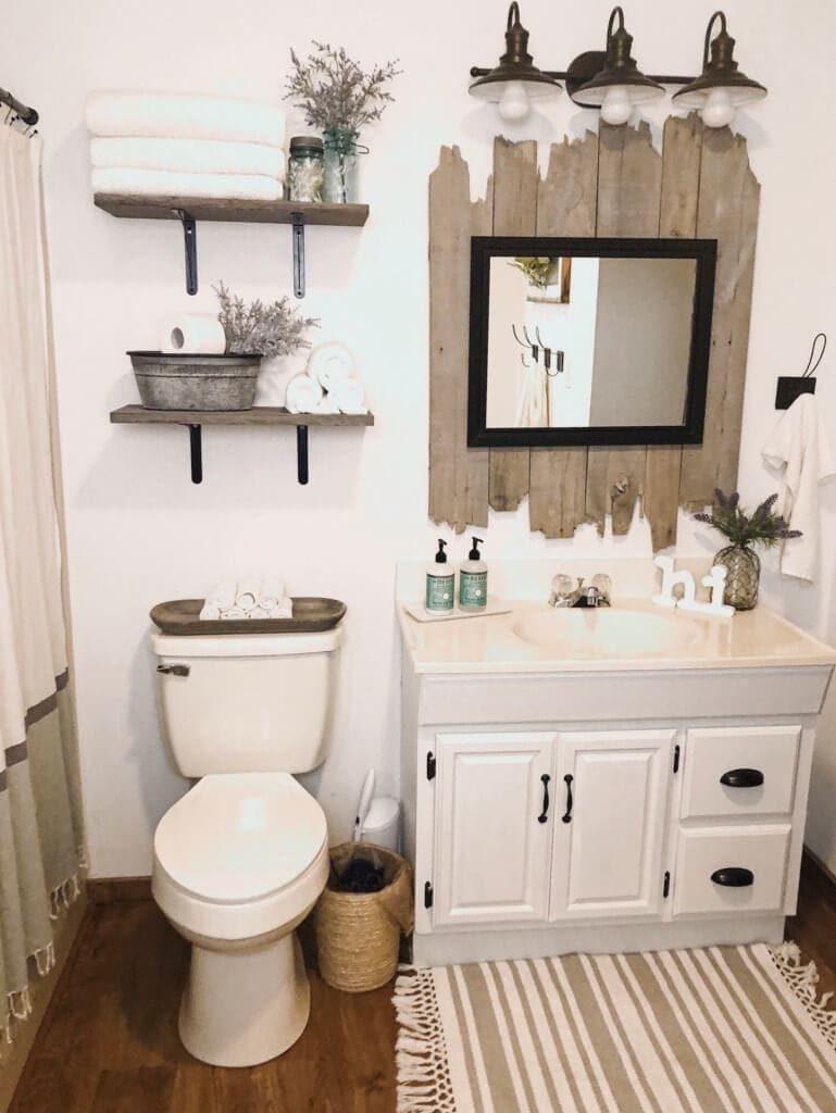 Идеи применения деревянных досок в ванной