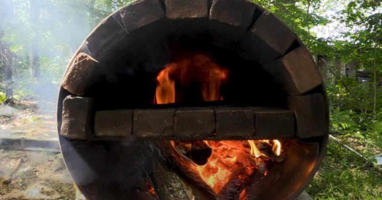 Как на скорую руку сделать уличную печь для пиццы