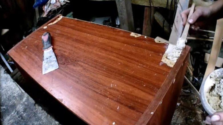Бюджетная переделка старых кухонных шкафов