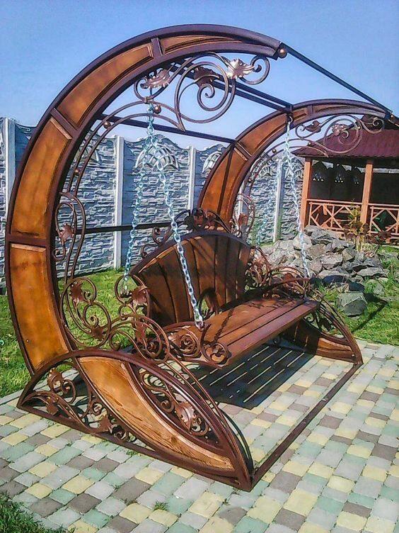 Идеи мебели для вашего сада и двора