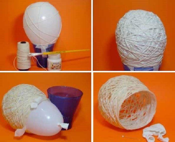 последнее поделка из воздушных шаров и ниток своими руками скачайте тематические картинки