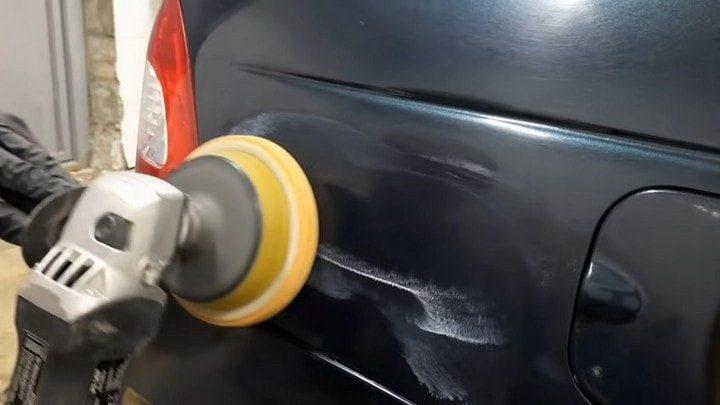 Как быстро и просто убрать царапину на машине