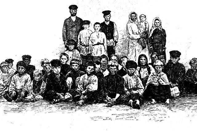 Как один русский мужик от двух жён 87 детей родил