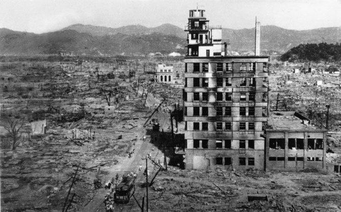 Японский апокалипсис: Хиросима и Нагасаки после бомбардировки на архивных фото