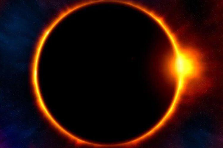 10 июня россияне смогут полюбоваться кольцевым солнечным затмением