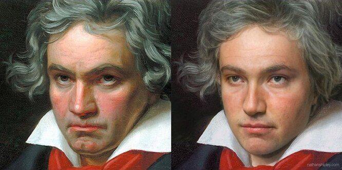 Искусственный интеллект воссоздал настоящую внешность Шекспира и других выдающихся людей прошлого