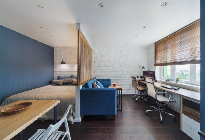 7 неправильных вариантов зонирования маленькой квартиры