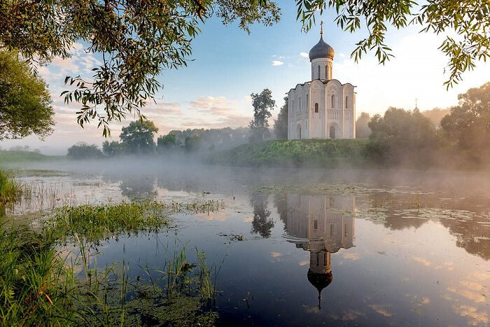 История России: Богородичные храмы-побратимы