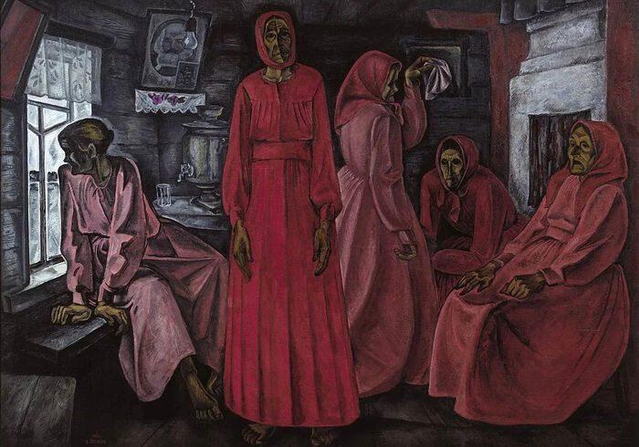 Тема Бога в творчестве современного художника Виктора Попкова