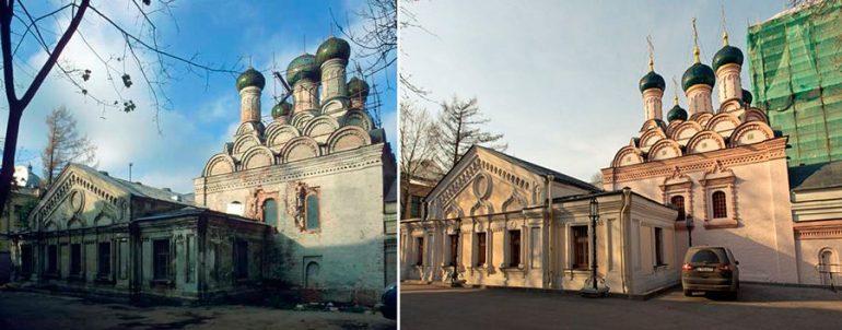О росписи храмов после революции