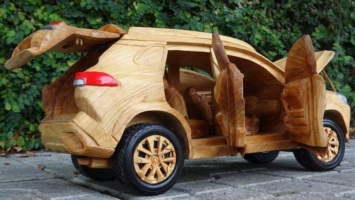 18 удивительных примеров, как можно украсить своё жильё поделками из дерева