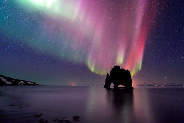 Пьющий монстр — природная достопримечательность Исландии