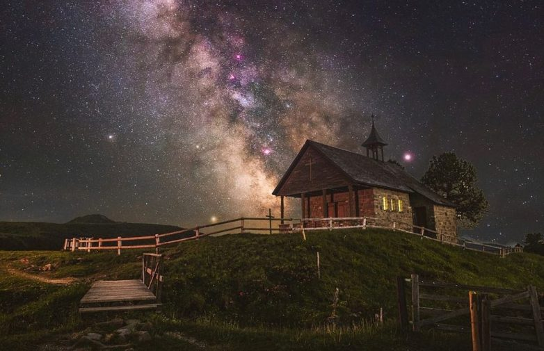 Ночная планета на фантастических снимках Бенджамина Бараката