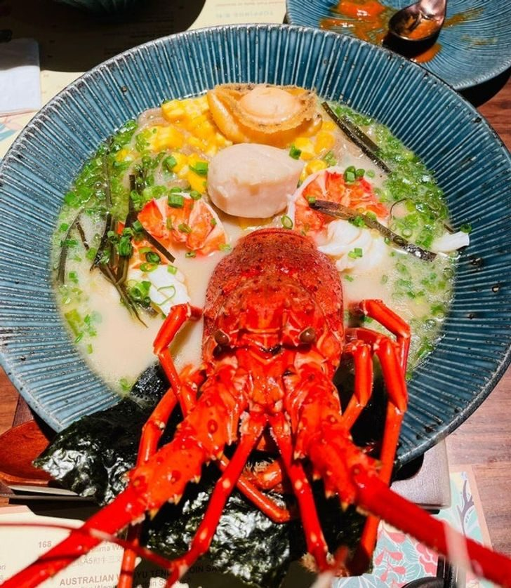 Вот такая она, японская еда!