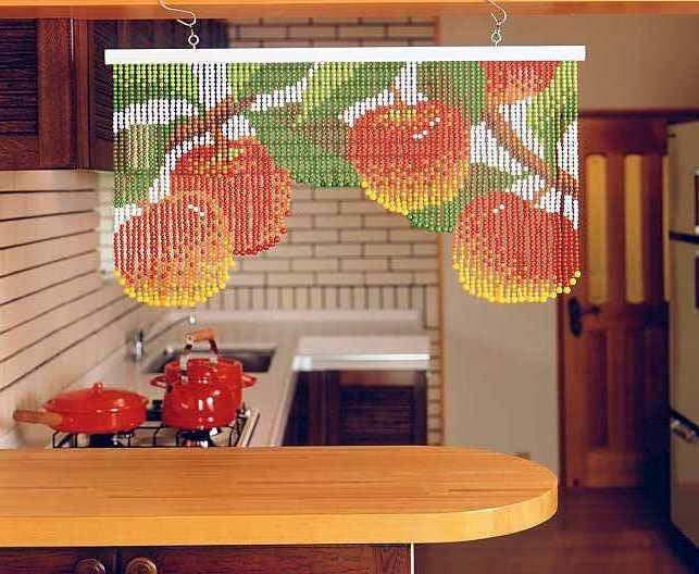 штора для кухни из открыток варианты большей
